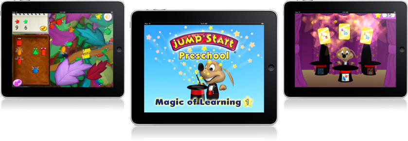preschool magic of learning - mobile games