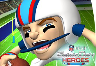 NFL Rush - GameDay Heroes Game App