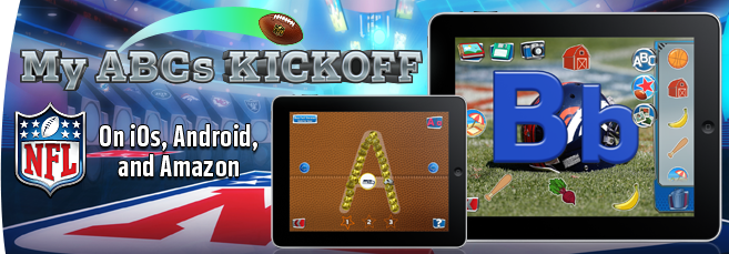 NFL My PReschool ABCs Kickoff - Fun Mobile Game for Kids