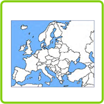 Vacationing in Europe – Printable Geography Worksheet for 4th Grade