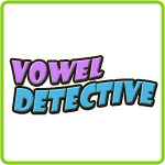 Vowel Detective - Printable English Worksheet