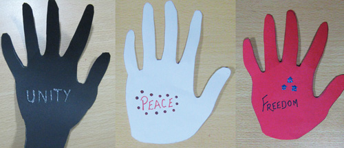 Holding Hands - Martin Luther King, Jr. Day Crafts