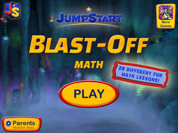JumpStart Blast-Off: Math