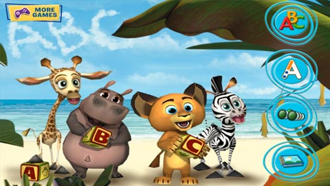 Madagascar: My ABCs - Preschool Mobile Reading Game