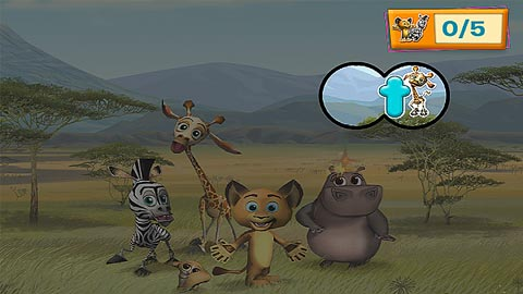 Madagascar My ABCs Mobile Reading App for Preschool JumpStart