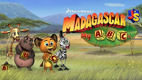 Madagascar: My ABCs - Fun Preschool Mobile App