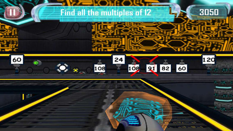MathBlaster B-Force Blaster - Math Game