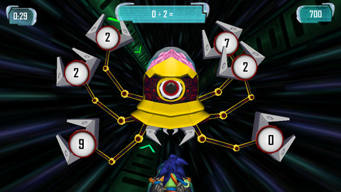 MathBlaster HyperBlast 2 - Mobile Game