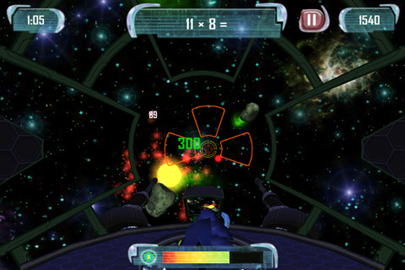 MathBlaster Space Zapper - Math Game