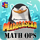 Madagascar Math ops - Fun Mobile App for Kids