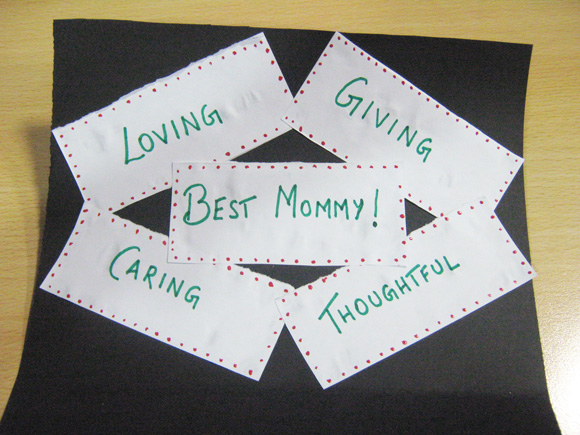 Mother's Day Card Crafts for Kids