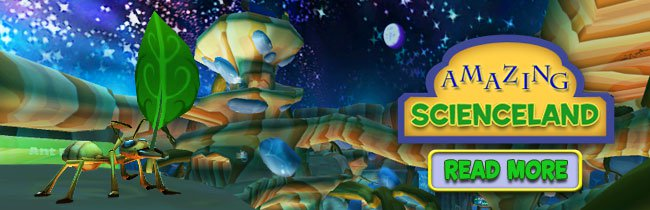 009907e1fb5b Online Virtual Games. StoryLand MarineLand AdventureLand FutureLand  ScienceLand