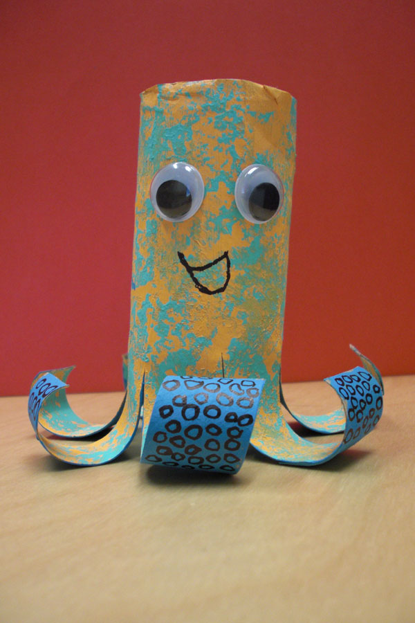 Learn to make this adorable sea creature!