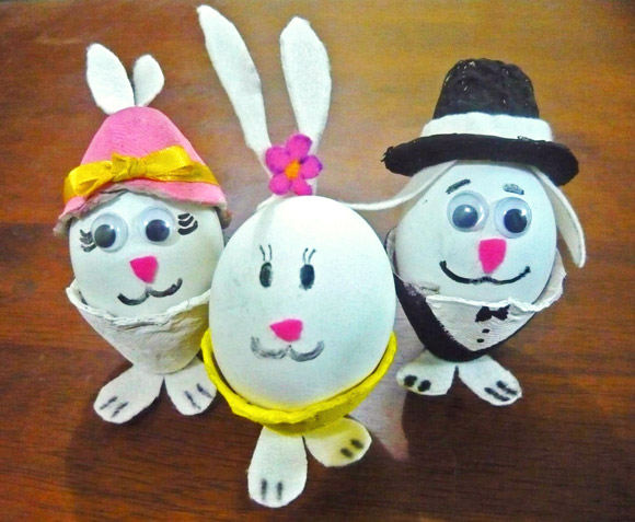 The humpty dumptys easter visit fun easter bunny craft for kids meet the humpty dumptys ccuart Gallery
