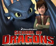 School of Dragons - How to Train Your Dragon Game