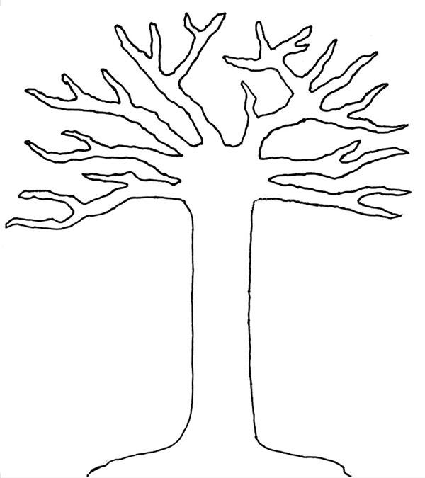 free printable tree templates