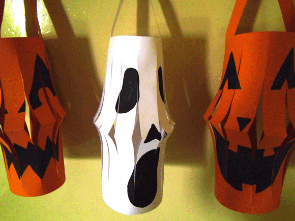 halloween lanterns - How To Make Halloween Lanterns