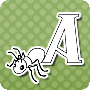 Animal Alphabets – A for Ant - Alphabet Worksheet Free Online