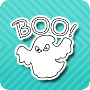 Boo Does Casper! - free halloween coloring worksheet