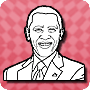Color Barack Obama - See this Free Presidents Day Activity