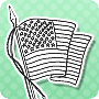 Color the American Flag - Download this Interesting Activity for Presidents Day