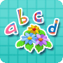 Flowers and Letters - English activity