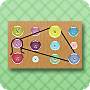 Fun With Buttons - Fun, Free Geoboard Preschool Activities