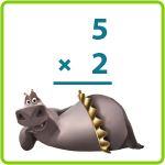 How Gloria Multiplies – Printable 2nd Grade Math Worksheet