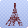 Locating the Eiffel Tower - Fourth grade geography worksheet