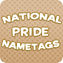 National Pride Nametags