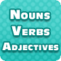 Nouns, Verbs and Adjectives - Grammar Worksheet for Fourth Grade