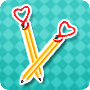 Pencil Hearts - Easy Fun Valentine's Day Craft