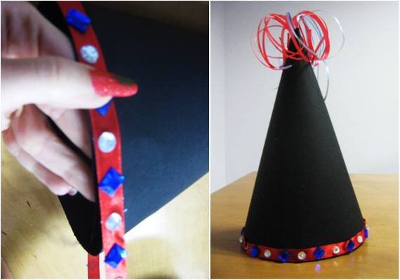 New Year Hat - Easy New Year Crafts for the Holidays