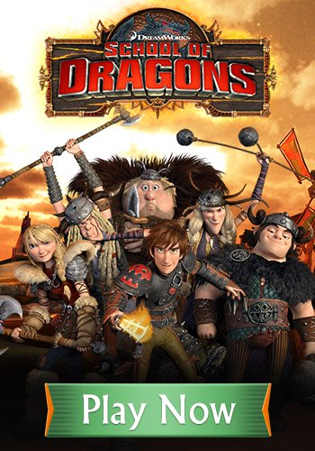 School of Dragons Mobile Game - How to Train Your Dragon Game