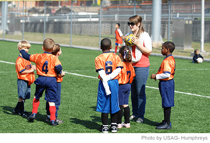Coaching Kids in Sports