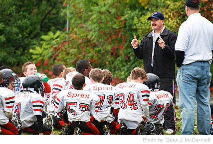 Youth football tips