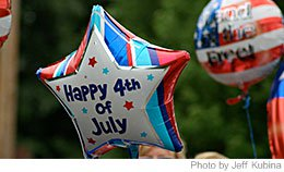4th July is a very revered day in the U.S.