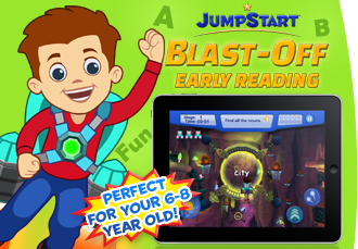 JumpStart Blast-Off Early Reading Mobile App