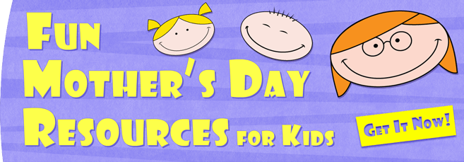 Printable Mother's Day Worksheets and Activities for Kids