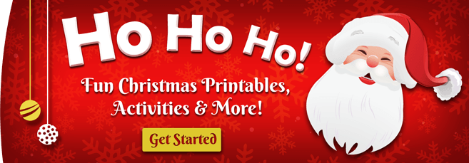 Christmas Banner - Free Printables for Kids