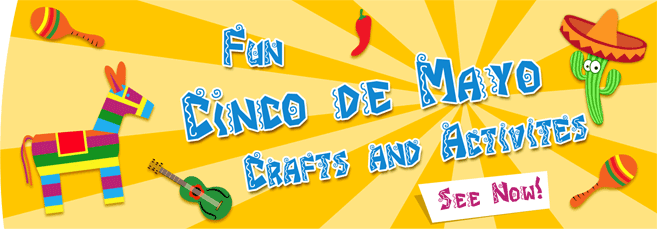 Cinco de Mayo Activities and Crafts Banner