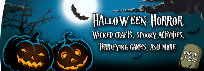 Halloween Banner - Printables for Kids