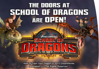 School of Dragons - Online Dragon Game for Kids