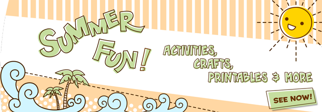 Summer Banner - Printables for Kids