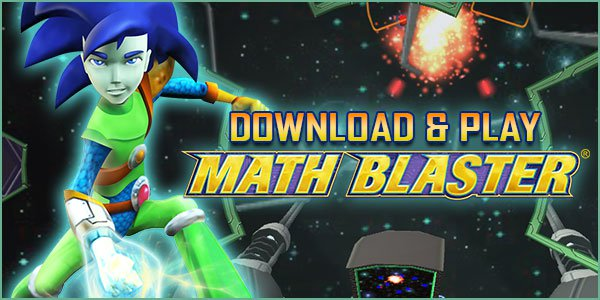 Download and Play Math Blaster