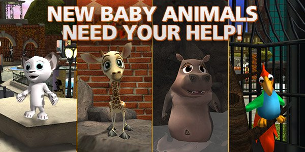 New Baby Animals Need Your Help!