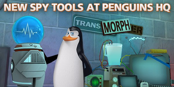 New Spy Tools at Penguins HQ