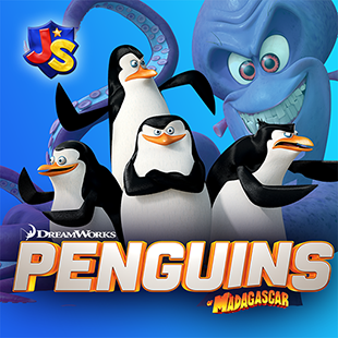 Penguins of Madagascar: Dibble Dash - Mobile Game for Kids