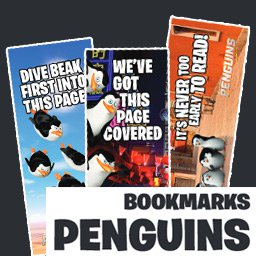Penguins of Madagascar Bookmarks