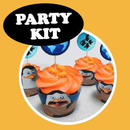 Special Agent Party Kit - Penguins of Madagascar